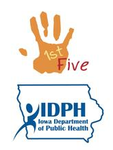 1st Five and Iowa Department of Public Health combined logo